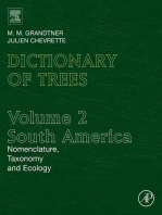 Dictionary of Trees, Volume 2: South America: Nomenclature, Taxonomy and Ecology