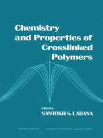 Chemistry and Properties of Crosslinked Polymers