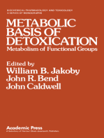 Metabolic Basis of Detoxication