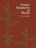 Water Relations of Plants