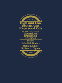 High and Low Erucic Acid in Rapeseed Oils