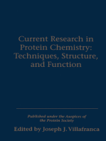 Current Research in Protein Chemistry