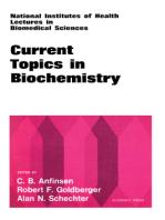 Current Topics in Biochemistry