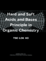 Hard and Soft Acids and Bases Principle in Organic Chemistry