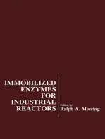 Immobilized Enzymes For Industrial Reactors