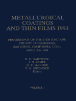 Metallurgical Coatings and Thin Films 1990