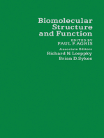 Biomolecular Structure and Function