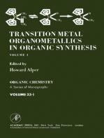 Transition metal Organometallics In Organic Synthesis