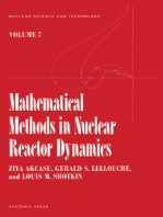 Mathematical methods in Nuclear reactor Dynamics