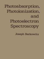 Photoabsorption, Photoionization, and Photoelectron Spectroscopy