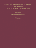 Liquid Chromatographic Analysis of Food and Beverages V1