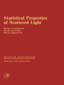 Statistical Properties of Scattered Light