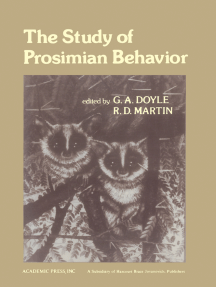 The Study of Prosimian Behavior