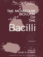 The Molecular Biology of the Bacilli
