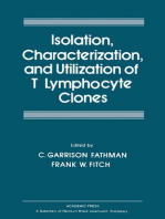 Isolation Characterization, and Utilization of T Lymphocyte Clones