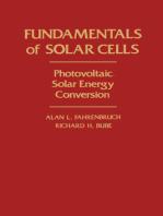 Fundamentals Of Solar Cells: Photovoltaic Solar Energy Conversion