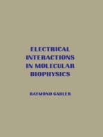 Electrical Interactions in Molecular Biophysics