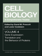 Cell Biology A Comprehensive Treatise V4