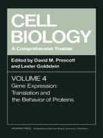 Cell Biology A Comprehensive Treatise V4