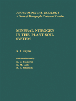 Mineral Nitrogen In The Plant-Soil System
