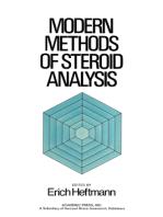 Modern Methods of Steroid Analysis