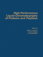 High-Performance Liquid Chromatography of Proteins and Peptides