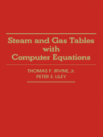Steam and Gas Tables with Computer Equations