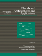 Blackboard Architectures and Applications