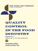 Quality Control in the Food Industry V1