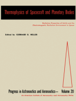 Thermophysics of Spacecraft and Planetary Bodies