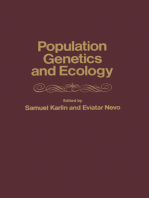 population genetics and ecology