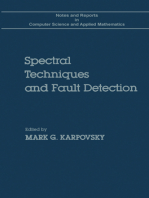Spectral Techniques and Fault Detection