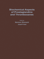 Biochemical Aspects of Prostaglandins and Thromboxanes