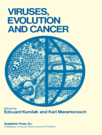 Viruses, Evolution and Cancer Basic Considerations