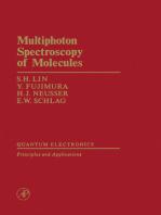 Multiphoton Spectroscopy of Molecules