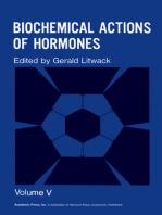 Biochemical Actions of Hormones V5