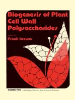Biogenesis Of Plant Cell Wall Polysaccharides