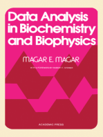 Data Analysis in Biochemistry and Biophysics