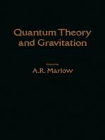 Quantum Theory and Gravitation
