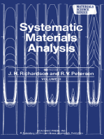 Systematic Materials Analysis Part 2
