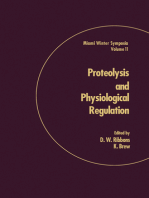 Proteolysis and Physiological Regulation