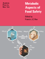 Metabolic Aspects of Food Safety