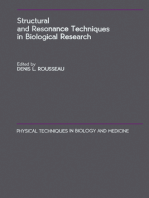 Structural and Resonance Techniques in Biological Research