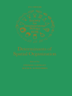 Determinants of Spatial Organization