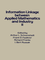 Information Linkage Between Applied Mathematics and Industry