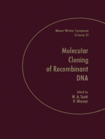 Molecular of Cloning of Recombinant Dna