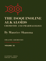 The Isoquinoline Alkaloids Chemistry and Pharmacology