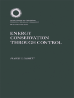 Energy Conservation Through Control