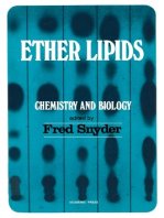 Ether Lipids Chemistry and Biology
