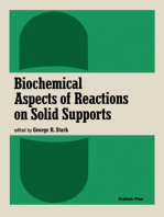 Biochemical Aspects of Reactions on Solid Supports